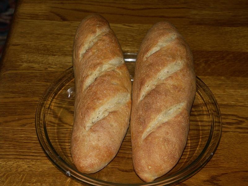 フランスパン(バケットのつもり)焼きました_a0240026_20271320.jpg