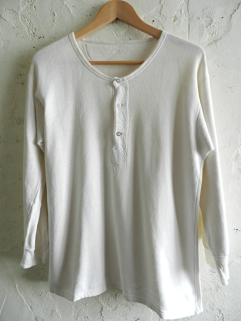 60`s German henley neck shirts_f0226051_0152371.jpg