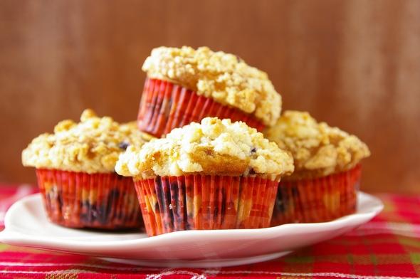 ブルーベリーマフィン Blueberry Muffins with Streusel Topping_d0166271_35878.jpg