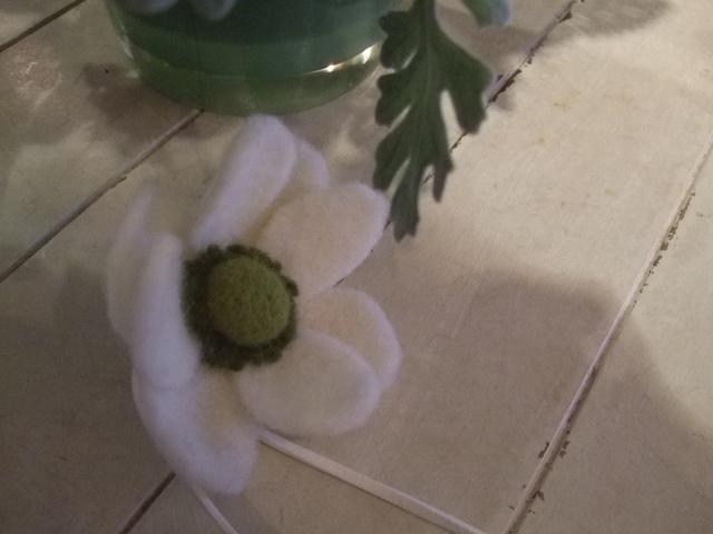 オークリーフ花の教室(島崎さんと勝俣さんの作品)_f0049672_1811059.jpg
