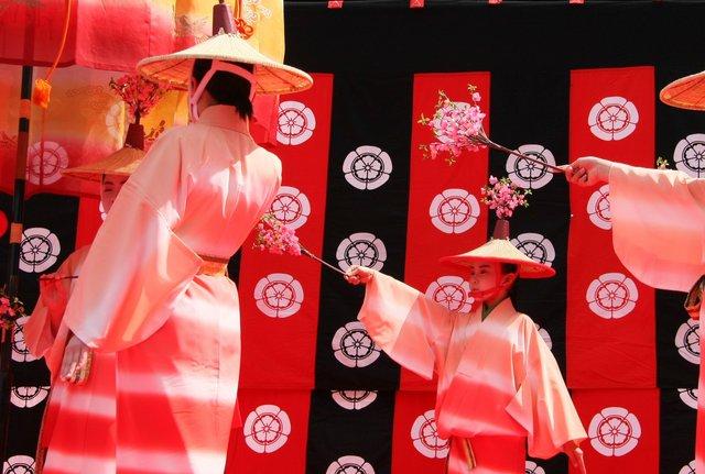 京都 随心院のはねず踊り_c0196076_22424654.jpg