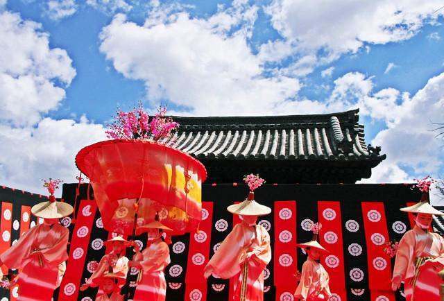 京都 随心院のはねず踊り_c0196076_23163326.jpg
