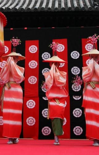 京都 随心院のはねず踊り_c0196076_23195512.jpg