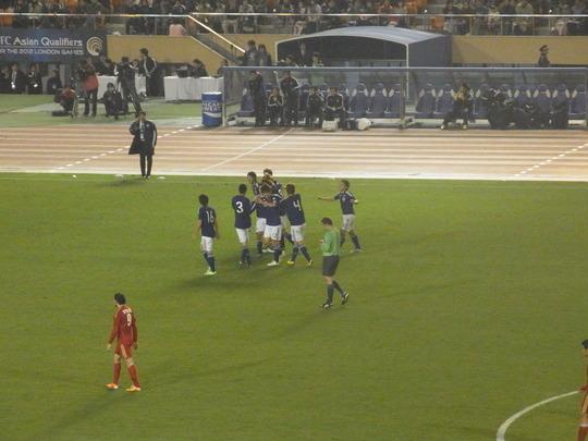2011-41 U-22日本代表2-1U-22シリア代表 ~五輪アジア最終予選3連勝!~_e0006700_125848100.jpg