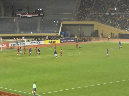 2011-41 U-22日本代表2-1U-22シリア代表 ~五輪アジア最終予選3連勝!~_e0006700_1316100.jpg