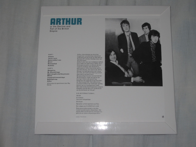 THE KINKS / Arthur Or The Decline And Fall Of The British Empire (紙ジャケ)_b0042308_9162651.jpg
