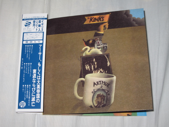 THE KINKS / Arthur Or The Decline And Fall Of The British Empire (紙ジャケ)_b0042308_984717.jpg