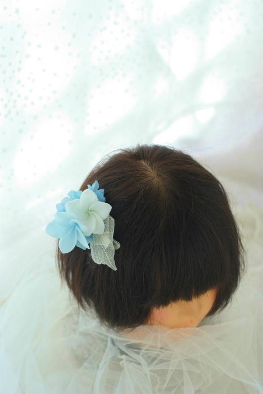 花のネックレス、イヤリング、カチューシャ、リストレット、トトロなブーケ モントレ赤坂様へ_a0042928_994661.jpg