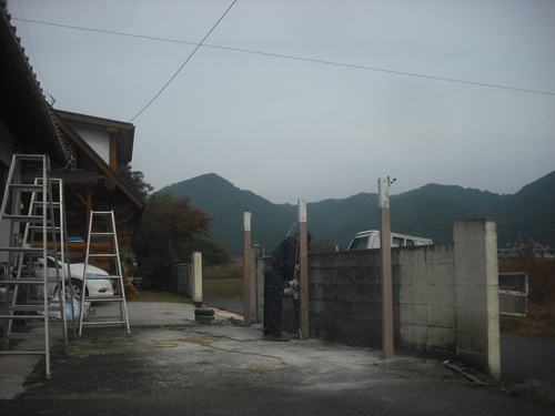 安芸高田市    S様邸 カーポート設置工事_d0125228_1715082.jpg