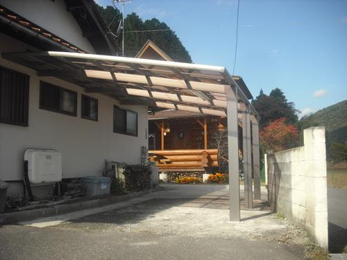 安芸高田市    S様邸 カーポート設置工事_d0125228_17163569.jpg