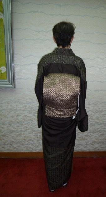 南座・前進座・お洒落な母娘さんの着物姿。_f0181251_17344225.jpg