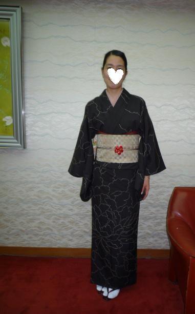 南座・前進座・お洒落な母娘さんの着物姿。_f0181251_17364999.jpg