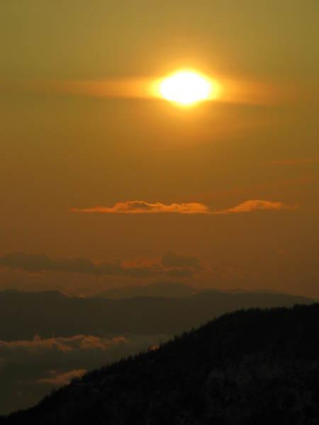 サンセットと雲海_e0120896_16551827.jpg