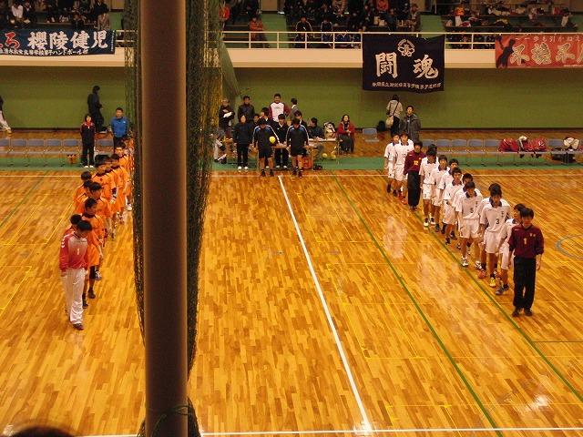 県高校新人ハンドボール大会で富士高男子が16年ぶりに優勝!_f0141310_722830.jpg