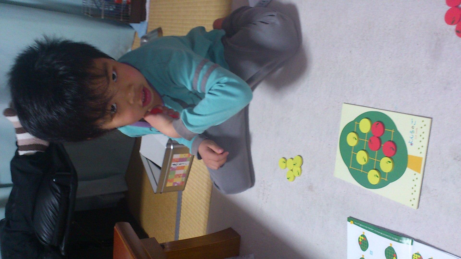 息子と囲碁で対戦_b0039825_19453915.jpg