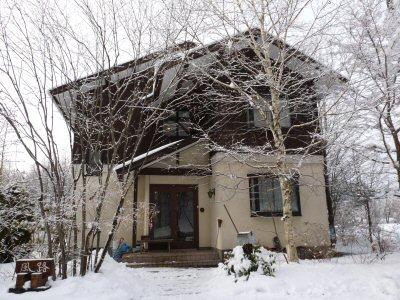 雪かきしました_f0019247_19125470.jpg