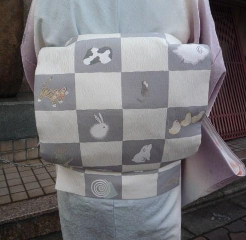 南座・前進座・野村エミさん楽しい干支の帯と鼻緒。_f0181251_18264321.jpg