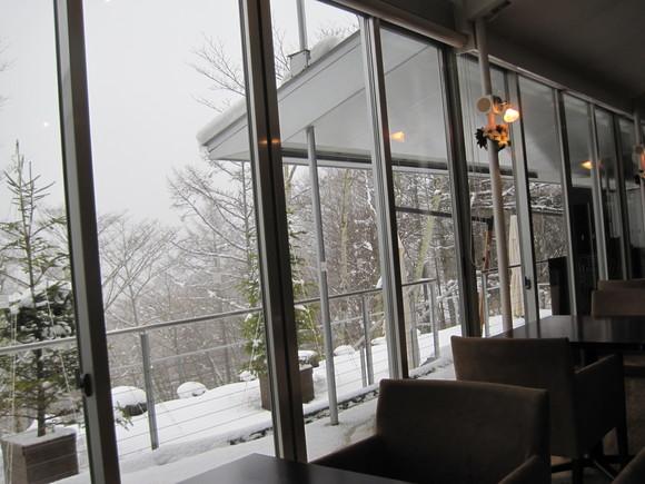雪景色のランチ_f0236260_302386.jpg