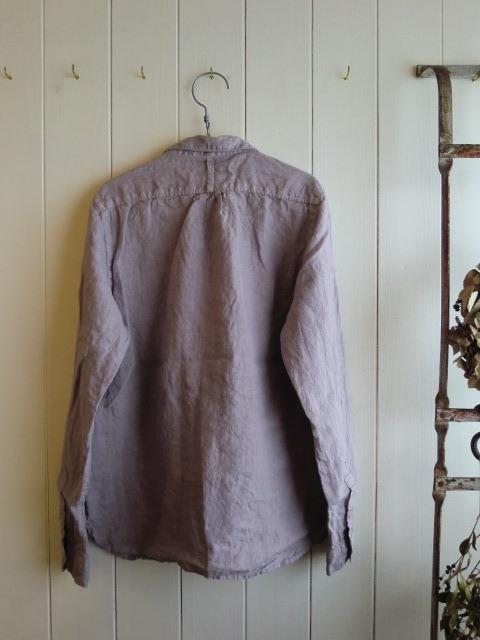 フレンチリネンシャツ。_a0164280_15423626.jpg