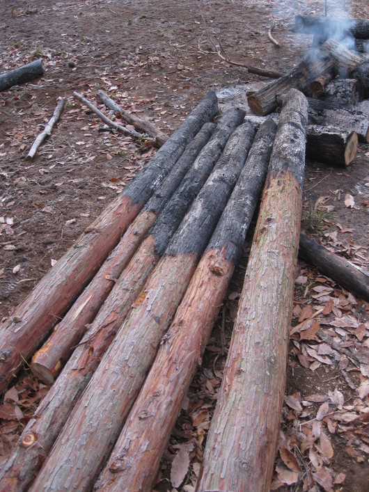 炭化木作り~☆_a0125419_9525756.jpg