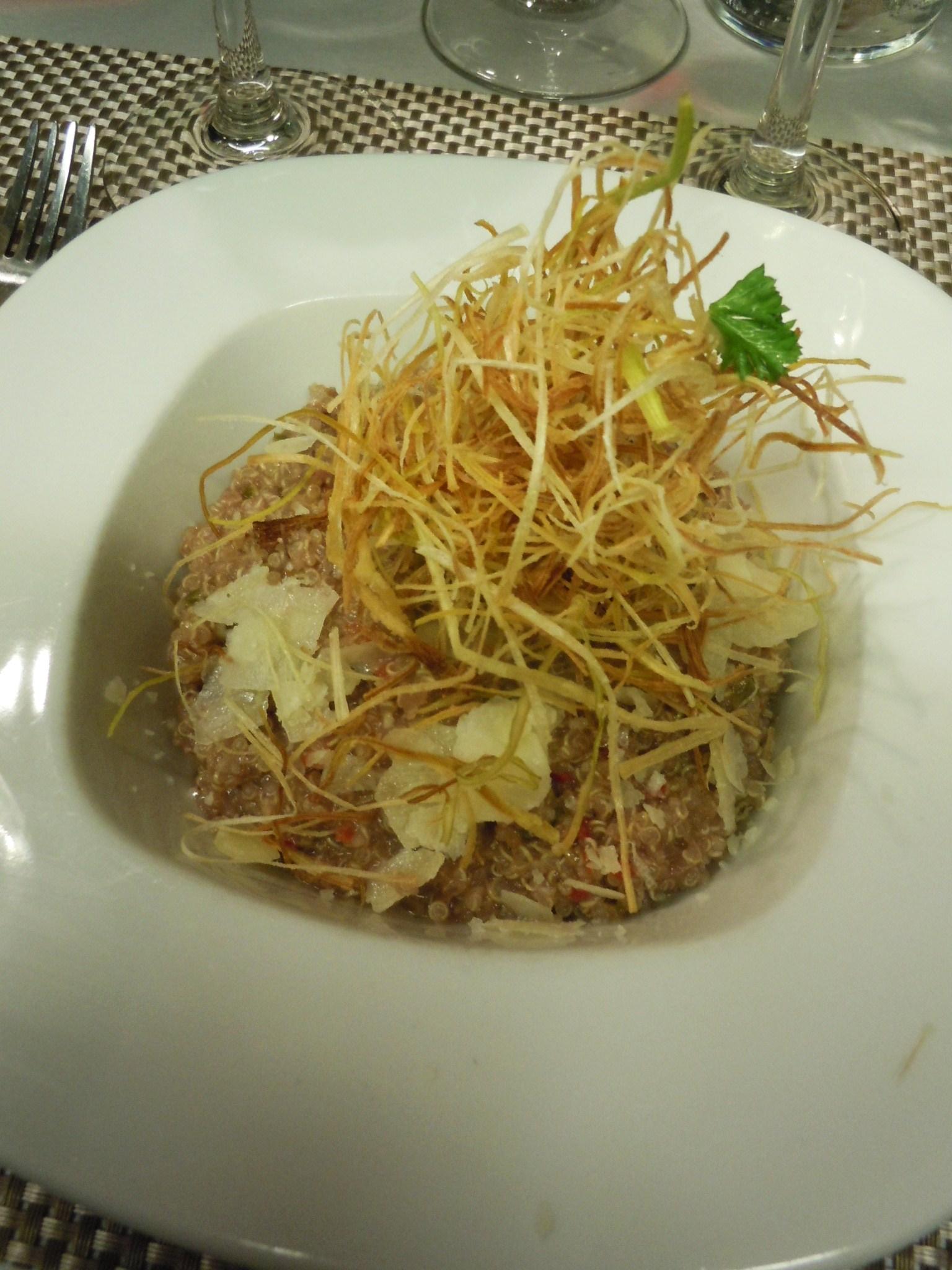 ペルー料理とキヌア_c0213220_841552.jpg