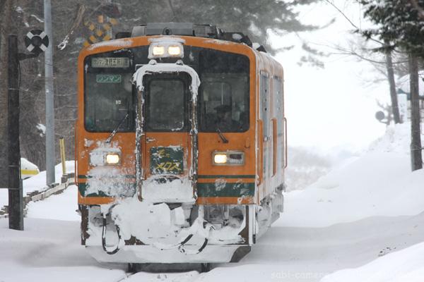 津軽鉄道冬景色 3_f0164826_23512530.jpg