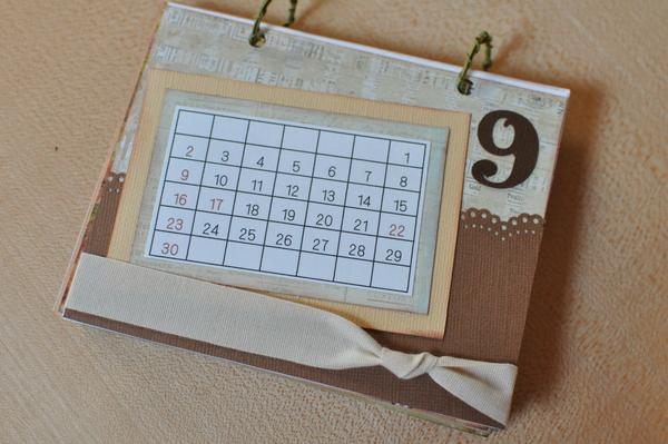 みんなの手作りカレンダーがおしゃれ!技ありアイデアまとめ♡