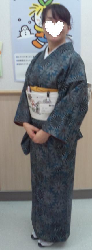 南座・前進座・兎の着物に長羽織の青森のお客様。_f0181251_18421862.jpg