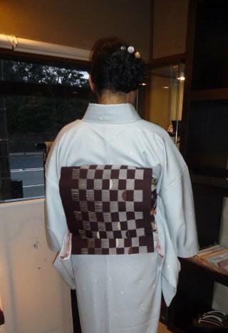 南座・前進座・兎の着物に長羽織の青森のお客様。_f0181251_1853412.jpg