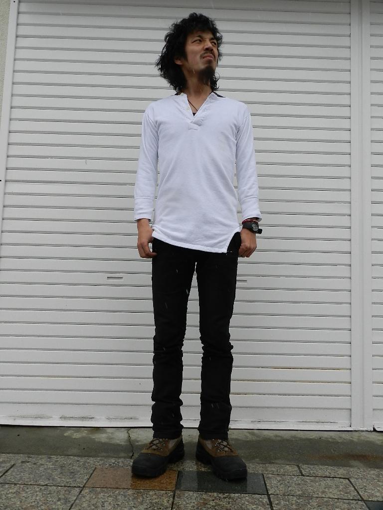 60`s German henley neck shirts snap_f0226051_17163783.jpg
