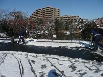 雪です!_d0121678_1155102.jpg