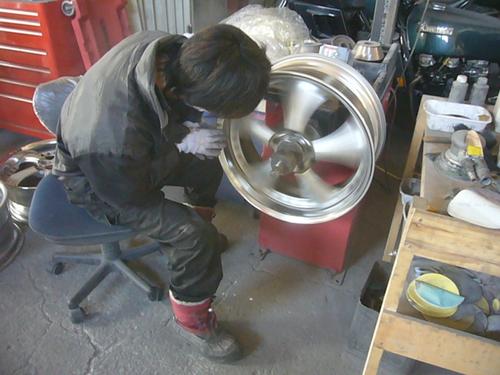 ガリ傷と腐食修理、ガンコート  S・D-76  北海道札幌北広島_a0196542_18555111.jpg