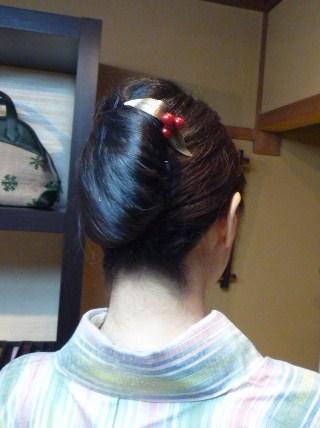 お客様の着姿・人間国宝、土屋順紀さんの素敵な紬_f0181251_19401853.jpg