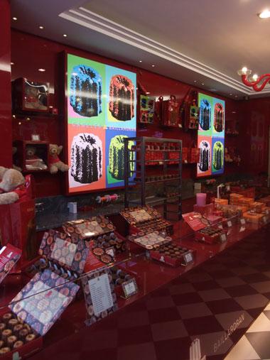 ボルドーで有名なカヌレのお店 BAILLARDRAN_f0127281_1322525.jpg