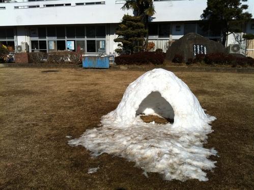 雪から2日後の今日_a0216706_122981.jpg