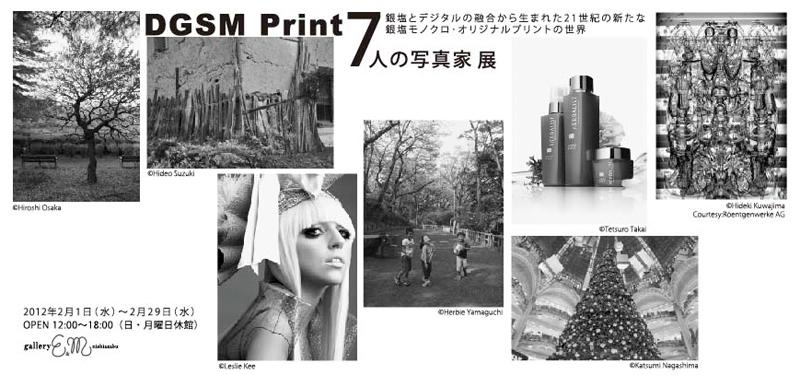 DGSM Print「7人の写真家」展を2月1日から一ヶ月間開催致します。_b0194208_0563216.jpg