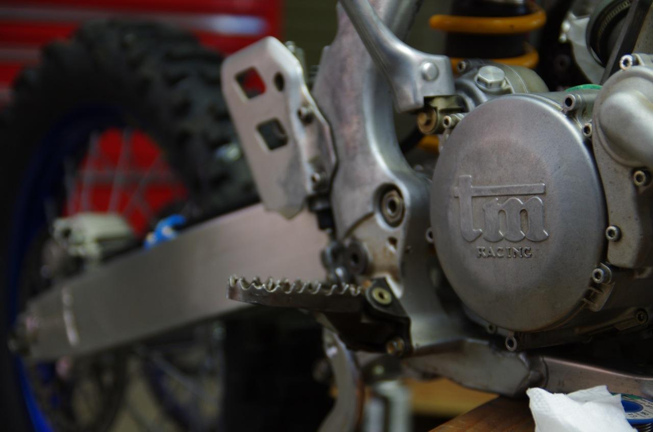 【tm】リアブレーキ及びリアタイヤ、清掃、取り付け_e0159646_13285492.jpg