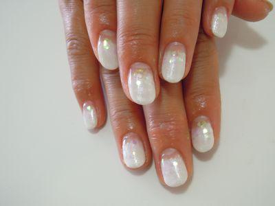 White Pearl Nail_a0239065_1511646.jpg