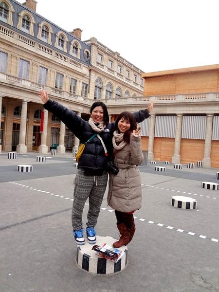 パリ2日目 オランジェリー美術館・一緒に旅する_b0165872_2315017.jpg