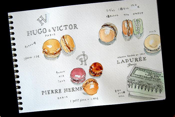 パリ2日目 オランジェリー美術館・一緒に旅する_b0165872_238393.jpg