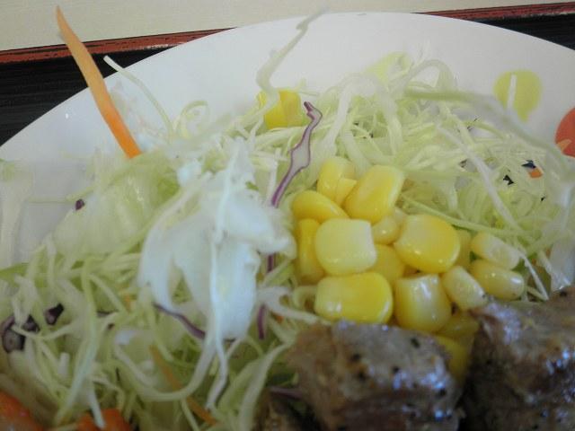 松屋の豚テキ定食    布施南店_c0118393_19113190.jpg