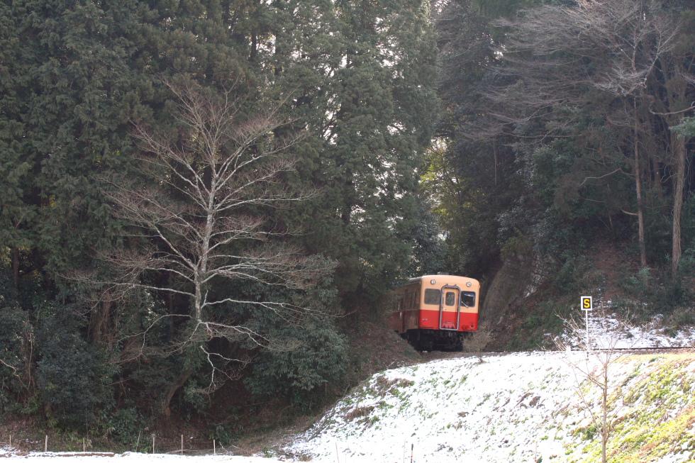 残雪と暖色 - 2011年・小湊鉄道 -_b0190710_20531130.jpg