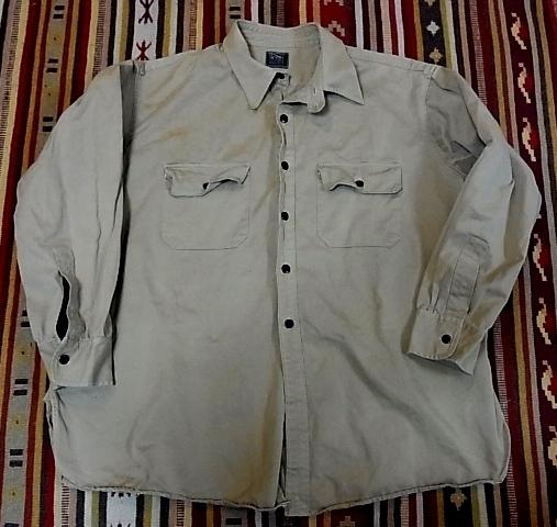 30'S チンスト コットンツイルシャツ !_c0144020_15151047.jpg