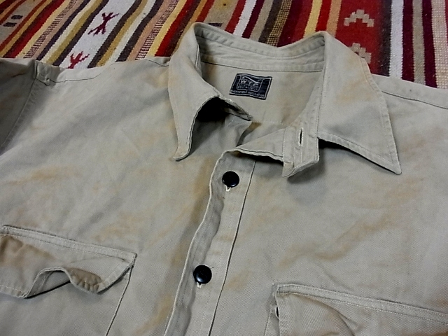 30'S チンスト コットンツイルシャツ !_c0144020_15151995.jpg