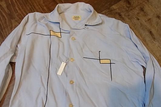 春物少しずつ・・。50'S レーヨンシャツ!Sサイズ!_c0144020_15292477.jpg