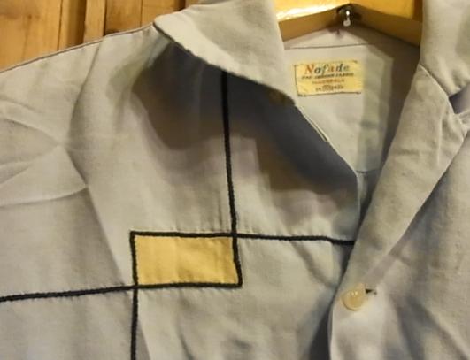 春物少しずつ・・。50'S レーヨンシャツ!Sサイズ!_c0144020_15292940.jpg