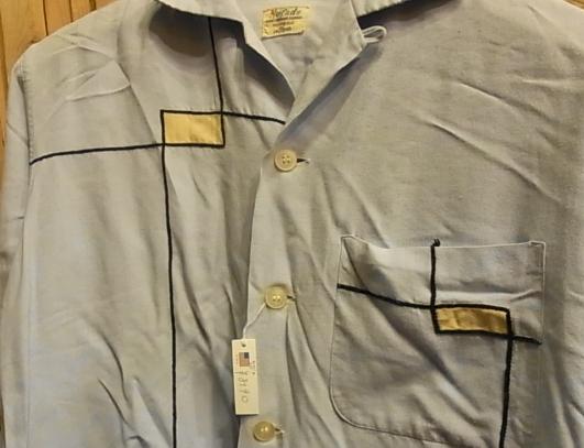 春物少しずつ・・。50'S レーヨンシャツ!Sサイズ!_c0144020_15293332.jpg