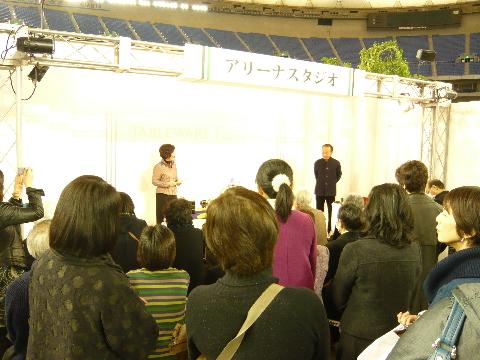 東京ドーム「アリーナスタジオ」_e0130334_4221727.jpg