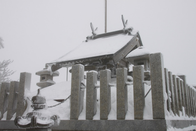 霧氷の高見山_d0055236_2241578.jpg