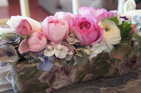 ショコラのクグロフ  柚子マカロン 最後のレッスンでした。_d0210450_15503669.jpg